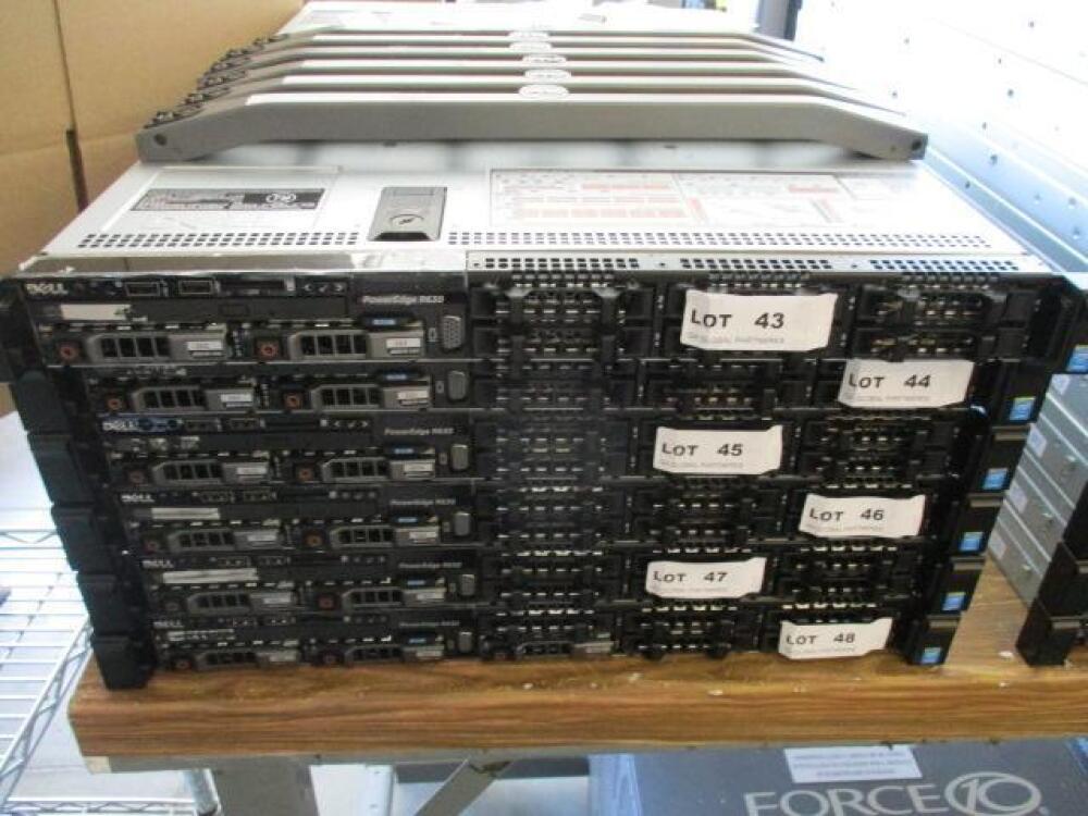DELL POWEREDGE R630 8BAY, 2X INTEL XEON CPU E5-2630 V3 2 40