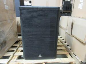 (4) PEAVEY RBN 215 SUB 120US POWERED SUBWOOFERS, (CUSTOMER RETURNS), (LOCATION SEC.7)